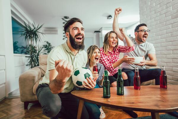 world cup fans